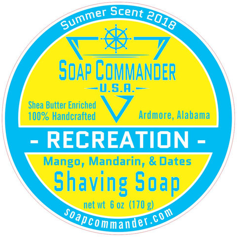 Recreation Shaving Soap