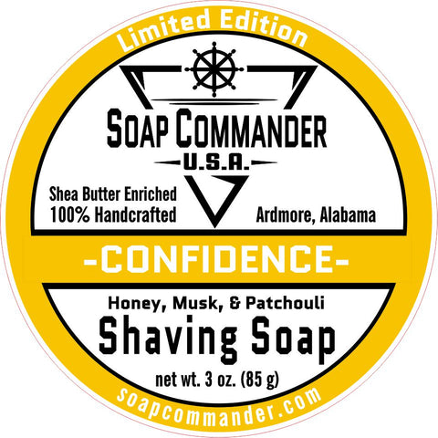 Confidence Shaving Soap