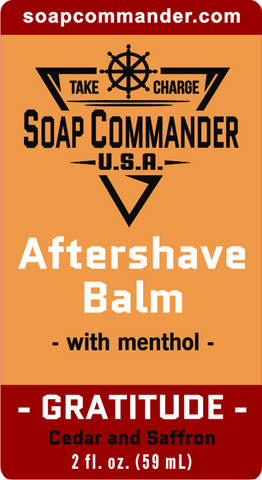 Gratitude Aftershave Balm