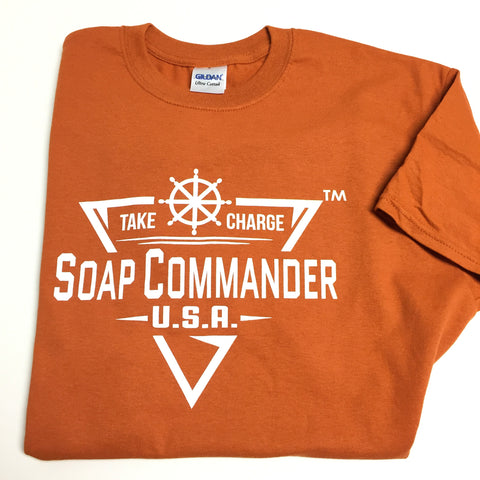Soap Commander Texas Orange T-Shirts