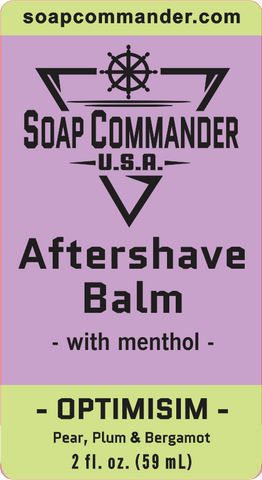 Optimism Aftershave Balm