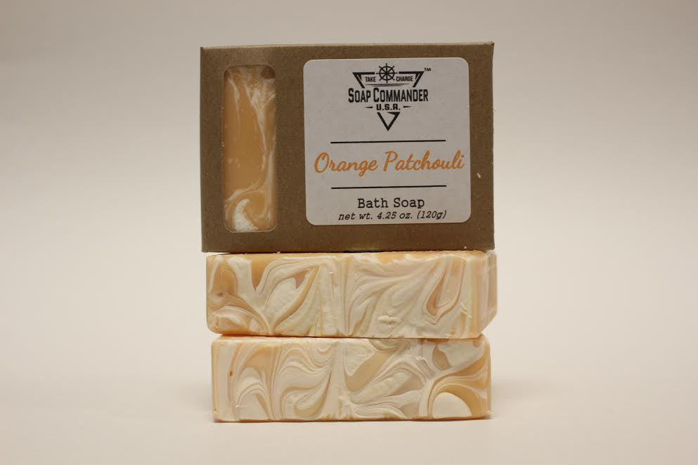 Orange Patchouli Bath Soap
