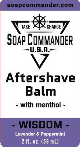 Wisdom Aftershave Balm