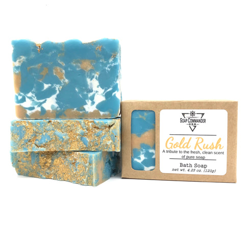 Gold Rush Bath Soap