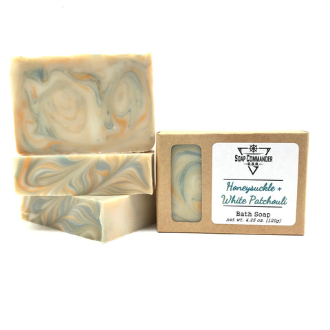 Honeysuckle & White Patchouli Bath Soap