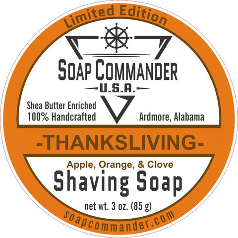 Thanksliving Shaving Soap