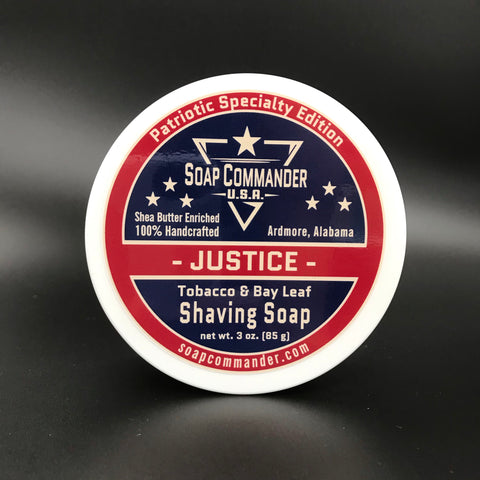 Justice Shaving Soap