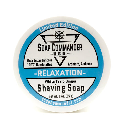Soap Commander Relaxation shaving soap 3 oz