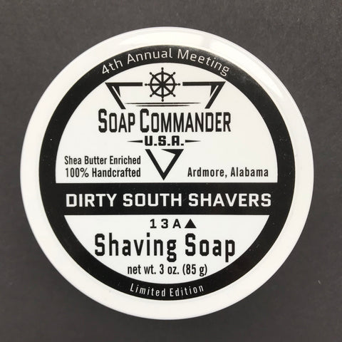 Dirty South Shavers Meet-Up Shaving Soap