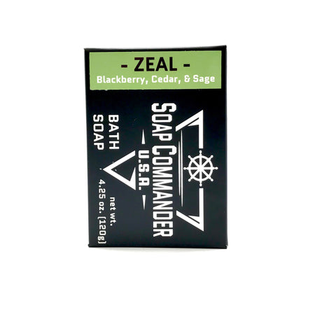 Zeal Bath Soap