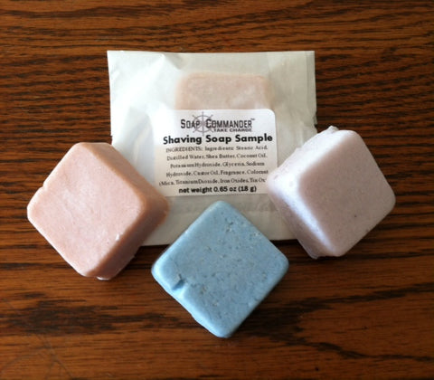 Shaving Soap Samples