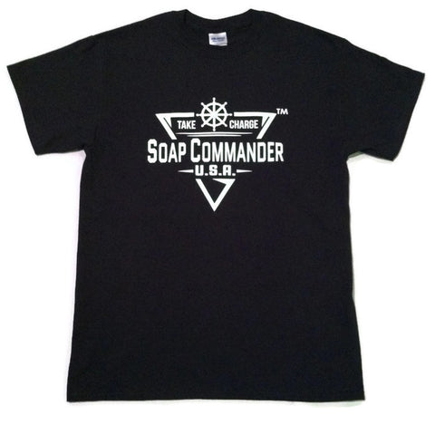 Soap Commander Black T-Shirts
