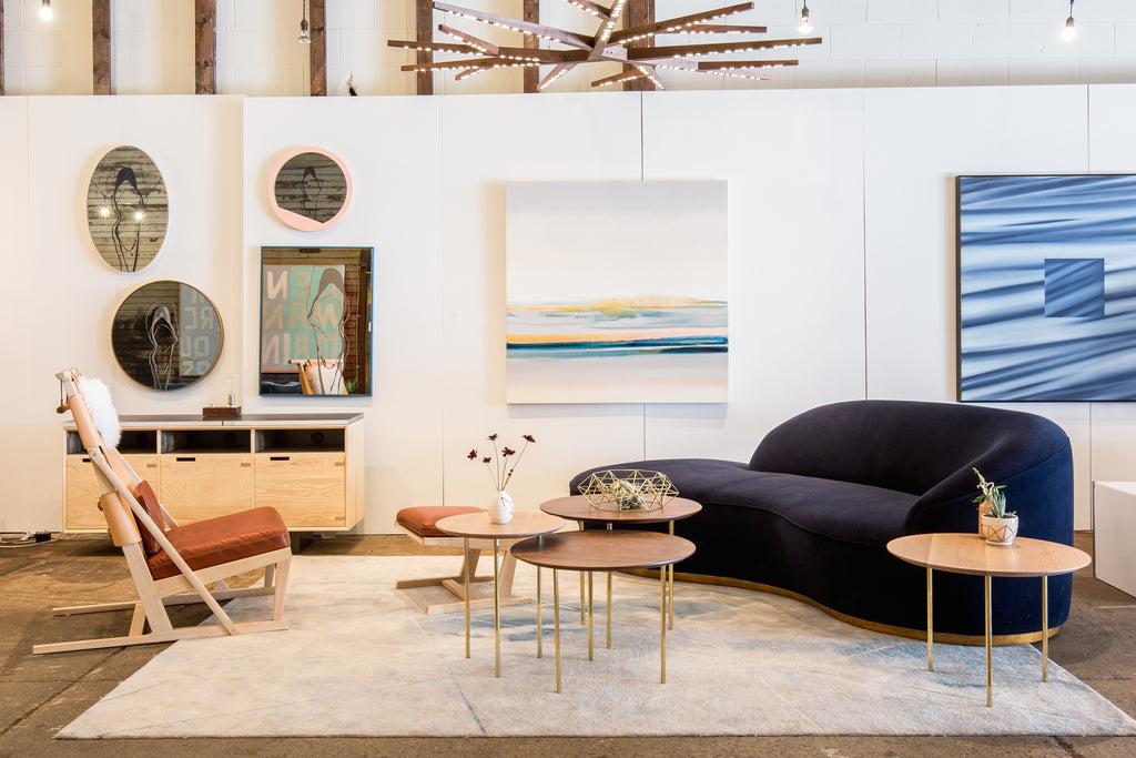 Fast Forward Four Years, And Our Furniture Pieces Shown At Address Assembly  On Vancouveru0027s Main Street This Past Spring Were Curated With Zoeu0027s Latest  ...