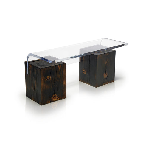 Cantilever table - Torched