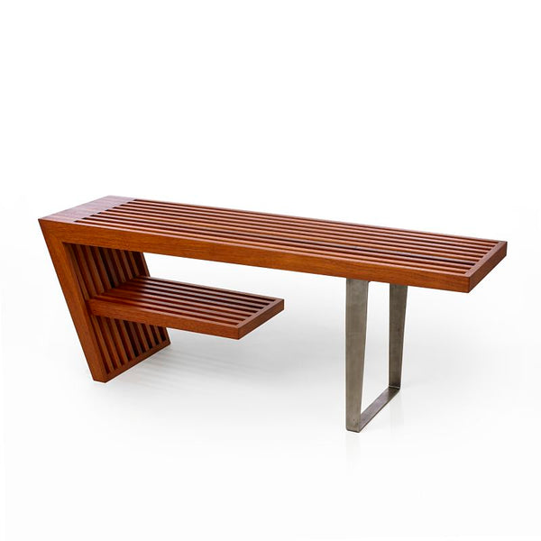 Freeman bench - white oak