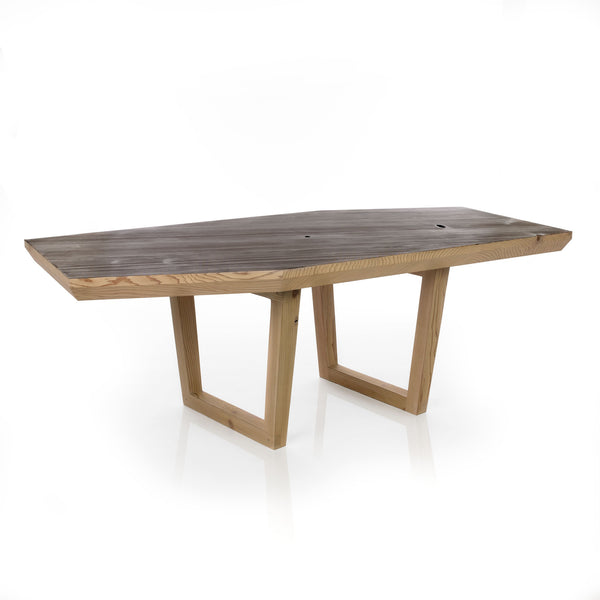 kaiwa torched outdoor table