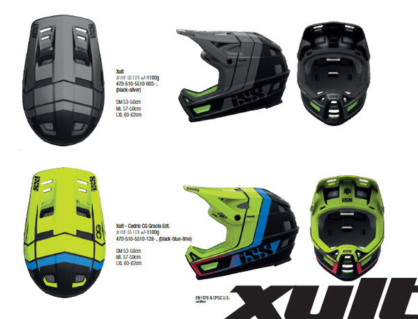 iXS Xult Helmet Colors