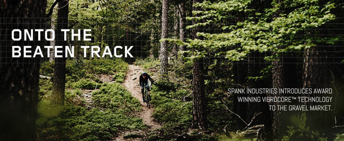 Spank Gravel Collection featuring Vibrocore technology