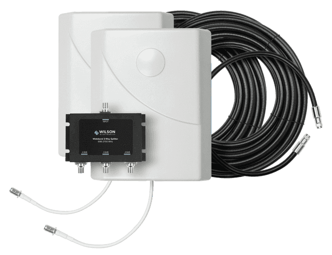 Dual Antenna Expansion Kit (75 Ohm) Image | weBoost cell phone signal booster