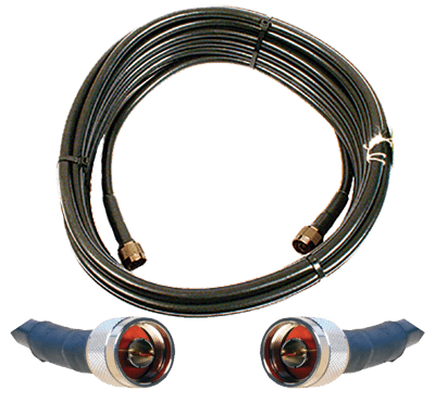 50 ft. Wilson 400 Ultra Low-Loss Cable (N-Male to N-Male) 952350 - weBoost