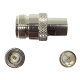 Connector N-Female to FME-Male