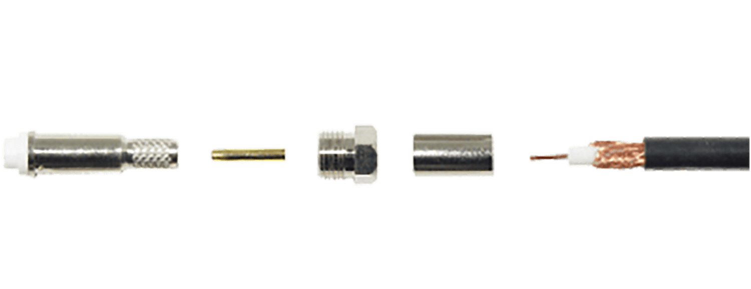 FME Female Crimp Connector Image