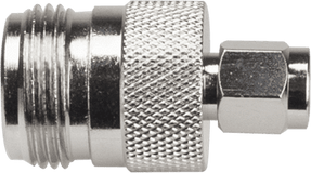 N Female - SMA Male Connector