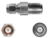 Connector SMA Male to F Female Connector
