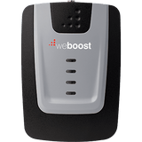 Front view of weBoost Home 4G cell phone signal booster for home