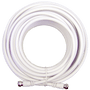 20 ft. White RG6 Low Loss Coax - weBoost