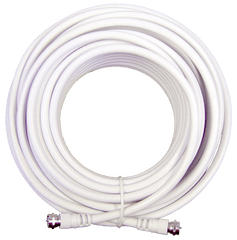 20 ft. White RG6 Low Loss Coax (F Male to F Male) | 950620 - weBoost