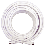 50 ft. White RG6 Low-Loss Coax (F Male to F Male)