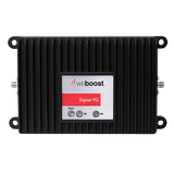 Front view of weBoost Signal 4G cell signal booster for M2M
