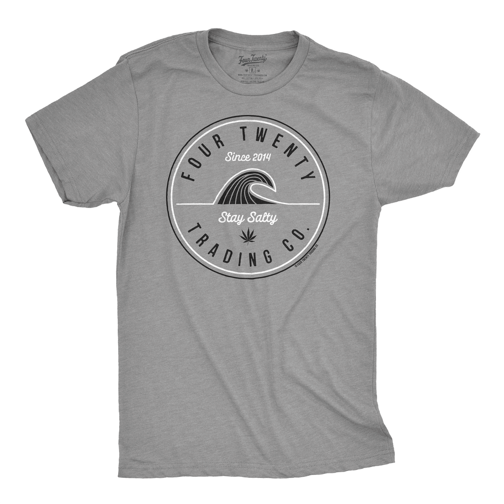 Stay Salty Gray Men's Tee