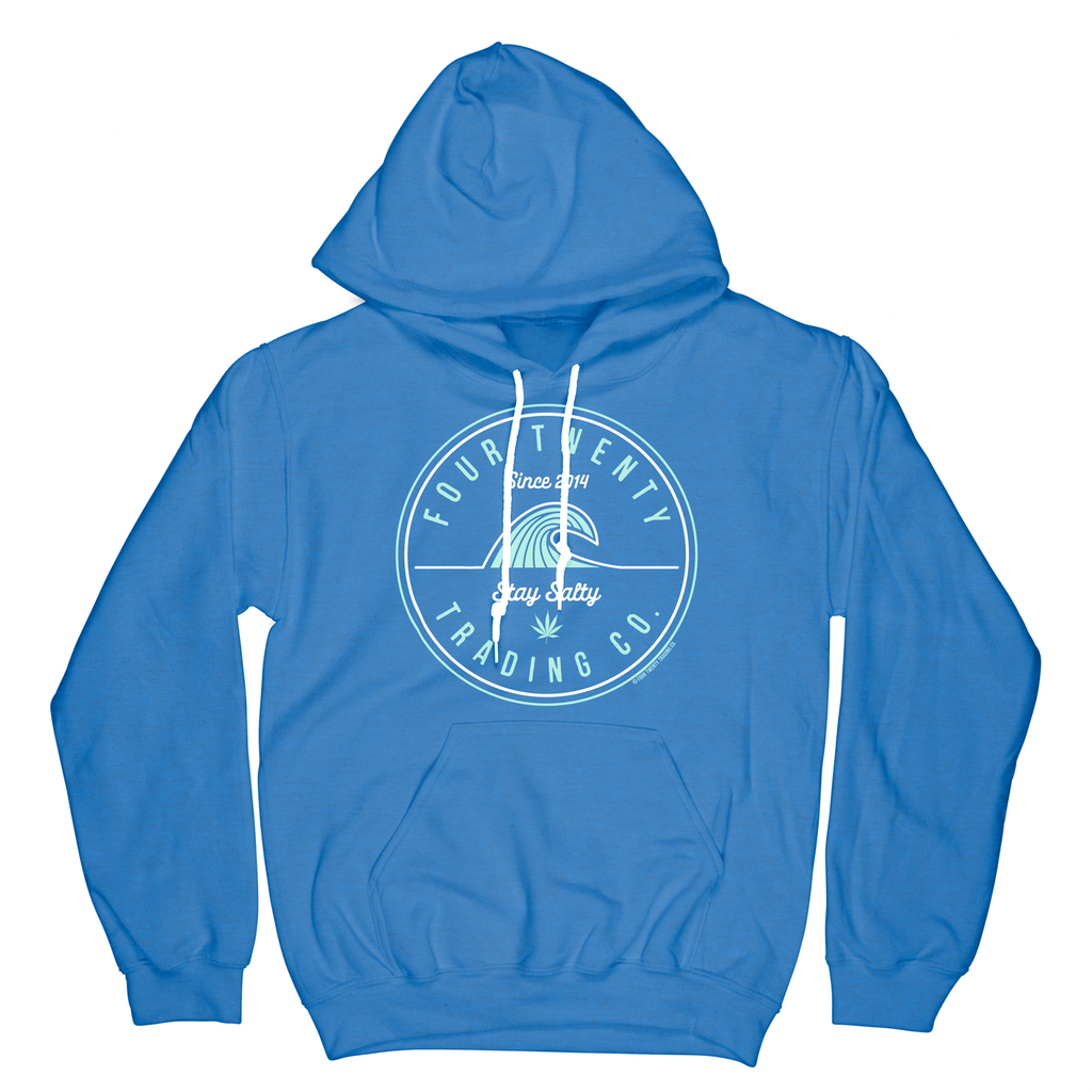 Stay Salty Royal Blue Hoodie
