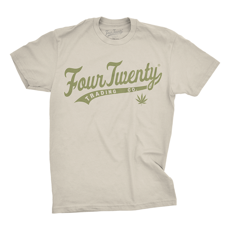 Baseball Logo Men's Green Tee