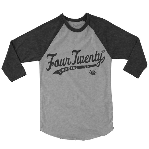 Four Twenty Baseball Logo Raglan