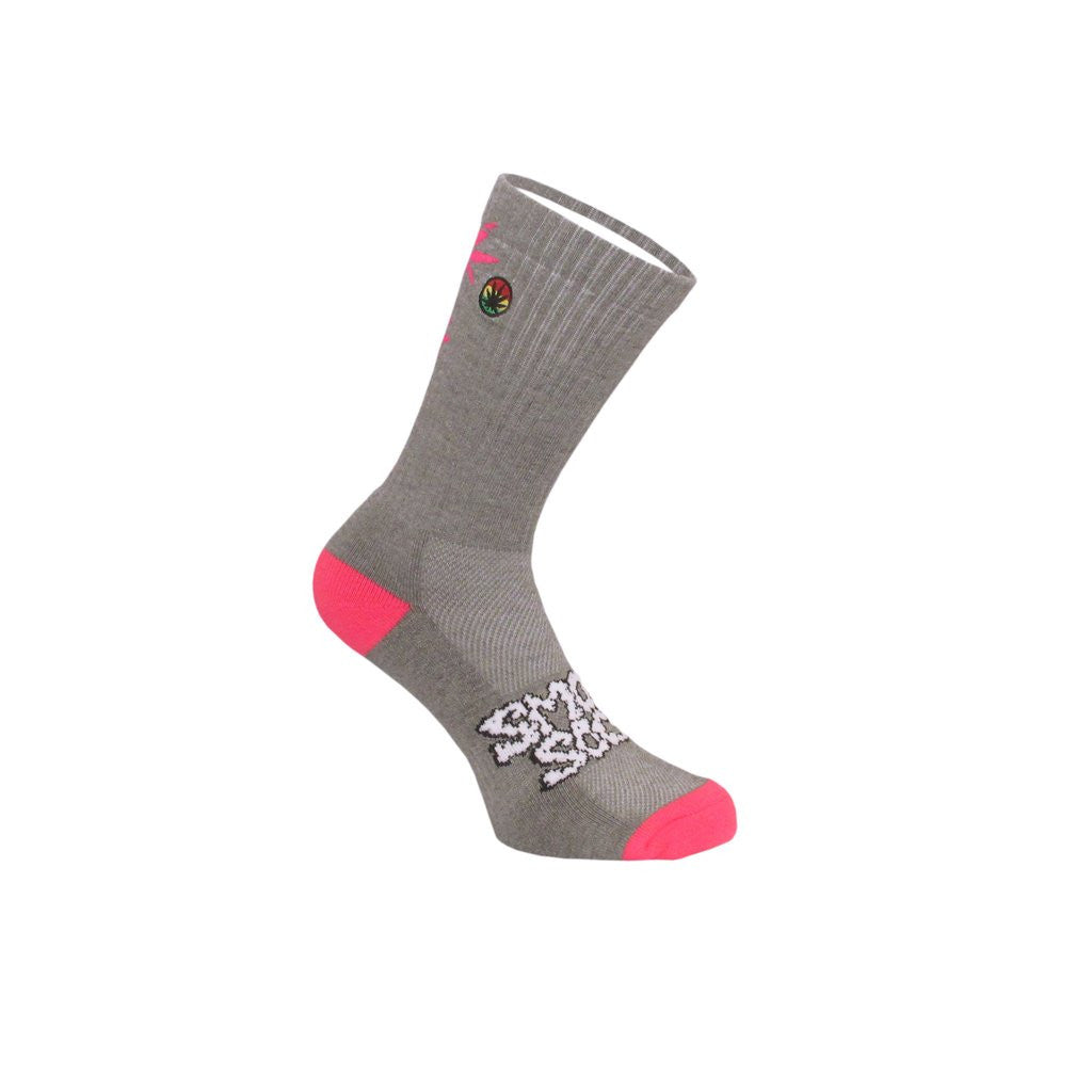 Smokey Socks Pink Ladder