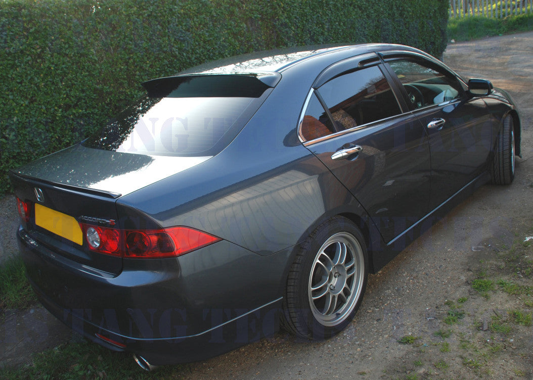 Window Visors Rear Hic Brand Tang Tech 1992 Teal Lexus Sc300 2dr Coupe Acura Tsx 04 08 Roof Visor Spoiler Jdm Smoked