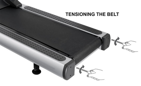tensioning treadmill belt fitness experience