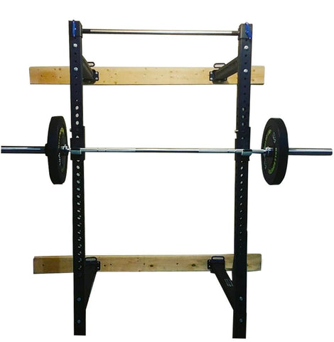 Bells of Steel Folding Power Rack, wall mount