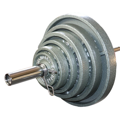 300 lb Olympic Cast Weight Set