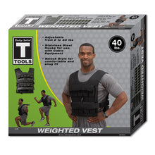 Body Solid Weighted Vest 20/40lb
