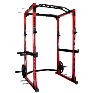 Power Rack with Multi Grip Chin Up Bar