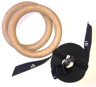 Gymnastic Rings - Deluxe Wood