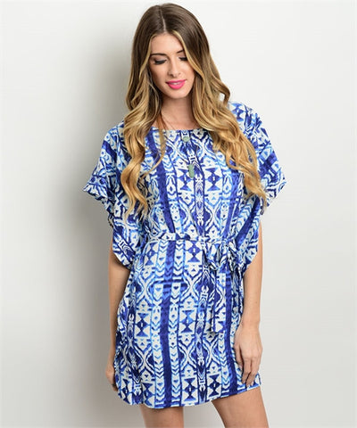 LARGE Navy button up Dress