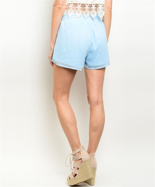 MEDIUM Light Blue Shorts