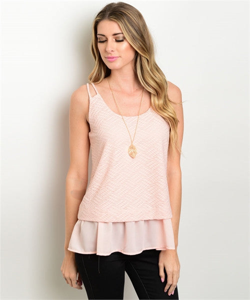 LARGE Blush Top