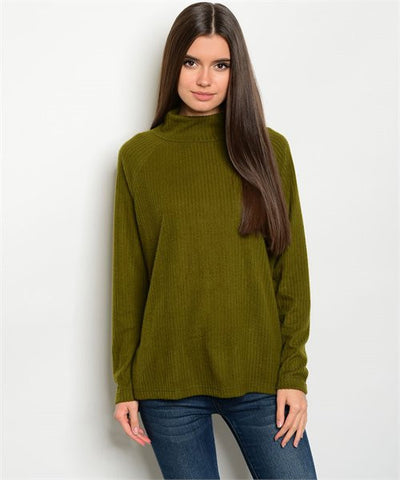 Olive Plus Size Top