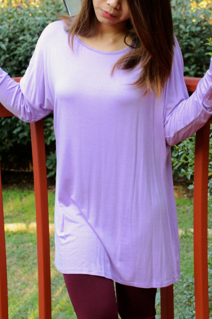 LARGE Lilac Iko Long Sleeve